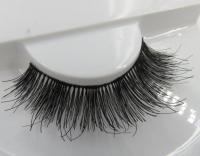 Wispy style human hair lashes-02