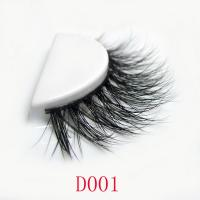 3D real mink fur lashes-D001