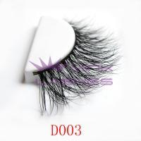 3D real mink fur lashes-D003