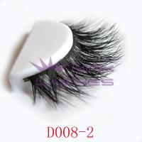 3D real mink fur lashes-D008