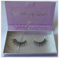Private label mink eyelash package-P028