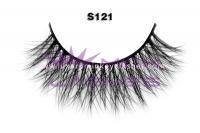 Real siberian mink fur strip lashes-S121