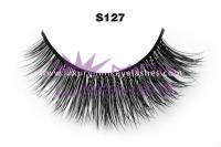 Real siberian mink fur lashes-S127