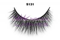 Real siberian mink fur lashes-S131