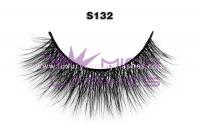 Real siberian mink fur lashes-S132