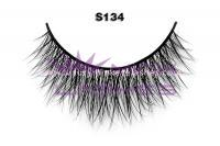 Real siberian mink fur lashes-S134