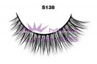Real siberian mink fur lashes-S138