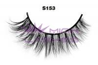 Real siberian mink fur lashes-S153