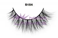 Real siberian mink fur lashes-S154