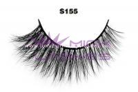 Real siberian mink fur lashes-S155