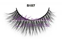 Real siberian mink fur lashes-S157