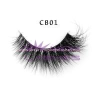 3D Invisible band Naked Mink Lashes-cb01
