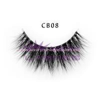 3D Invisible band Naked Mink Lashes-cb08
