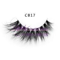 3D Invisible band Naked Mink Lashes-cb17