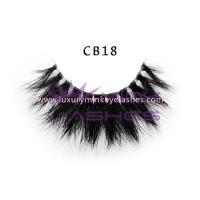 3D Invisible band Naked Mink Lashes-cb18