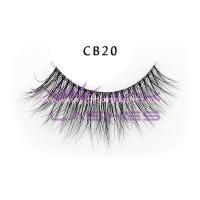 3D Invisible band Naked Mink Lashes-cb20