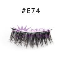 Natural Style Human Hair Lashes-E74