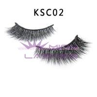 Double Layered-silk flase Lashes KSC02