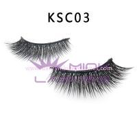 Double Layered-silk flase Lashes KSC03