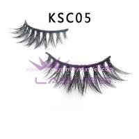 Double Layered-silk flase Lashes KSC05