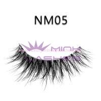Naked mink strip lashes-NM05