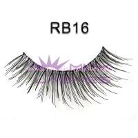 Handtied   natural eyelash rb16