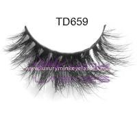 3D volume mink  strip  eyelashes  TD659