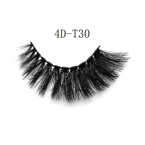 4D Faux Mink Volume Flase Lashes-4D-T30